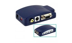 2D to 3D HDTV/DLP Converter (Frame Sequential, Side by Side, and Red/Cyan) w/ Remote
