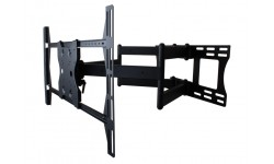 Universal Articulating Mount With Dual Arms for Large 37-55 in. Displays