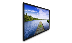 84 in. High Contrast Projection Screen with Black Velvet Frame (HDTV, 16:9)