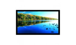 106 in. High Contrast Projection Screen with Black Velvet Frame (HDTV, 16:9)