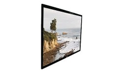 110 in. High Contrast Projection Screen with Black Velvet Frame (HDTV, 16:9)