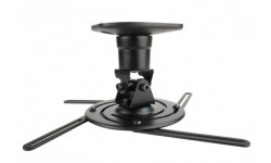 Universal Projector Mount for Projectors up to 30 lbs. - Non-NPT Threads (Black)